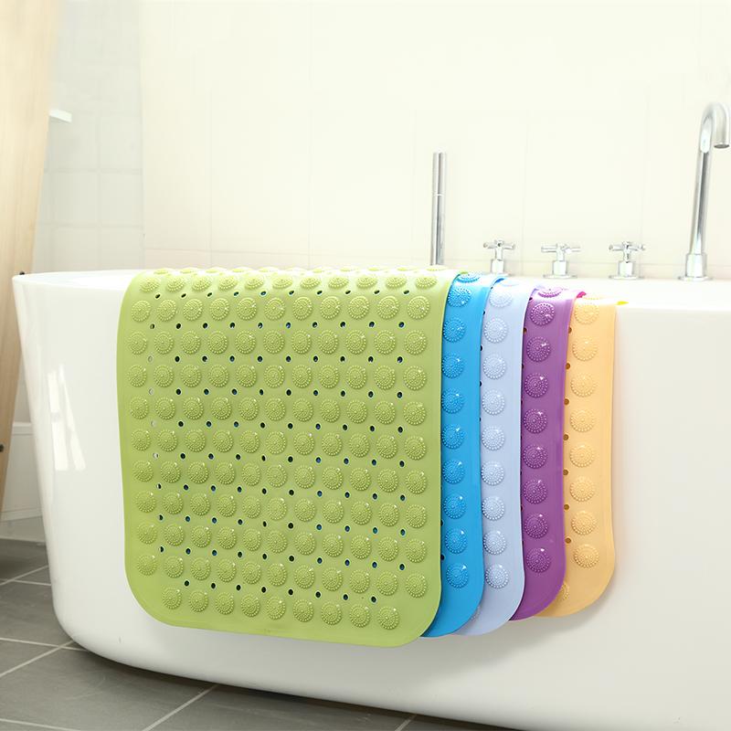 浴室防滑垫淋浴洗澡浴缸卫生间厕所卫浴防水脚垫子家用地垫门垫