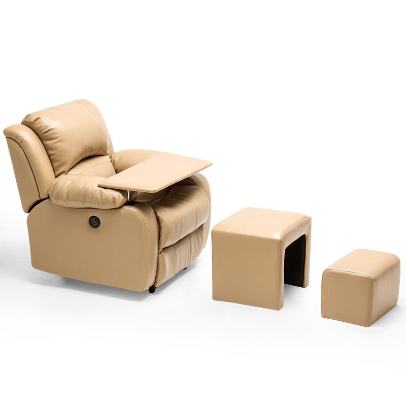 美容院美甲美睫足疗床电动美甲店专用皮沙发单人按摩做脚可躺椅子