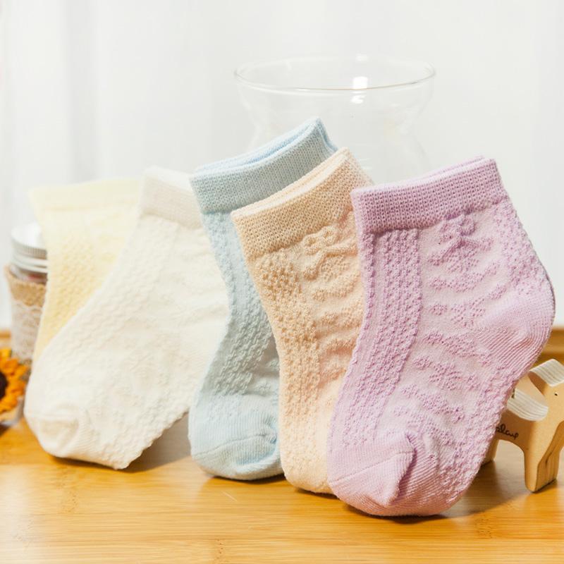 儿童袜子夏季薄款棉男童女童宝宝袜子春秋3-5-7-9岁小孩袜宝宝船