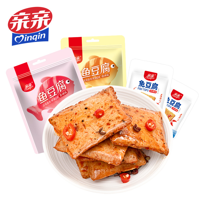亲亲鱼豆腐共28包