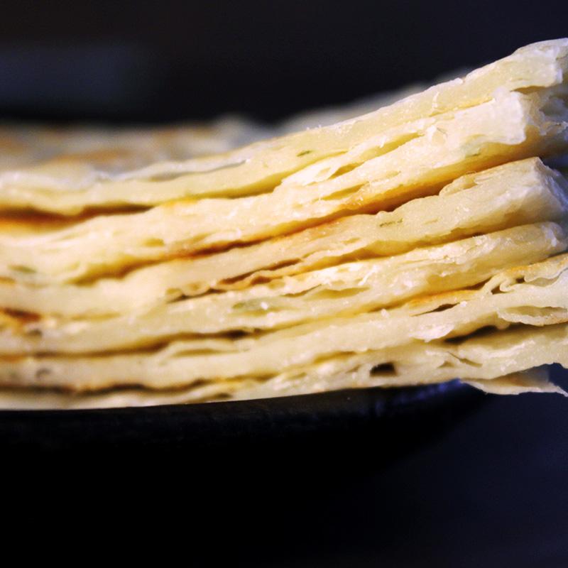思念香蕉味印度飞饼饼皮千层酥皮4片可制作榴莲酥饼水果派皮300g