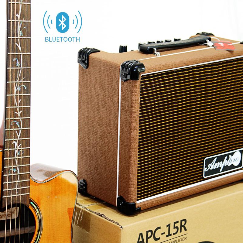 蓝牙电吉他民谣音箱音响电吉他木吉他弹唱音箱带麦克风输入 Amppro