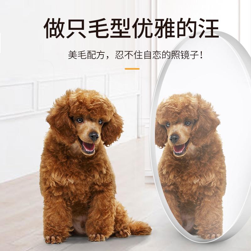 成犬狗粮通用型10斤宠物狗专用小型犬泰迪比熊博美金毛蓝菊成犬粮优惠券