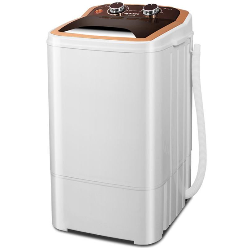 洗脱一体单筒单桶家用大容量半全自动小型迷你洗衣机 奥克斯 AUX