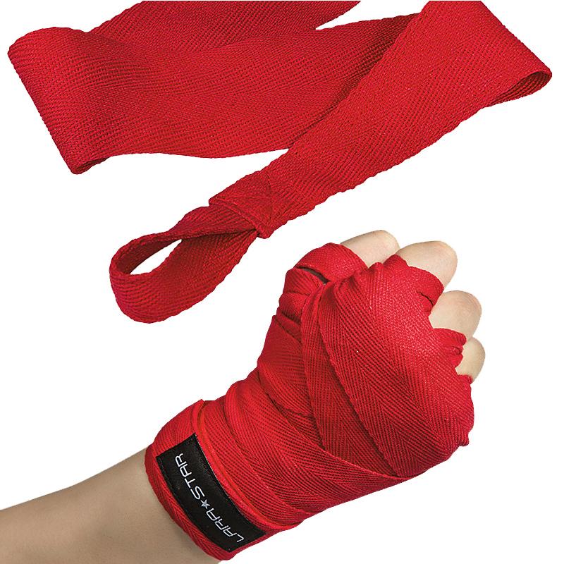 劳拉之星棉质拳击绷带散打缠手带沙袋护手搏击泰拳绑手带格斗打拳