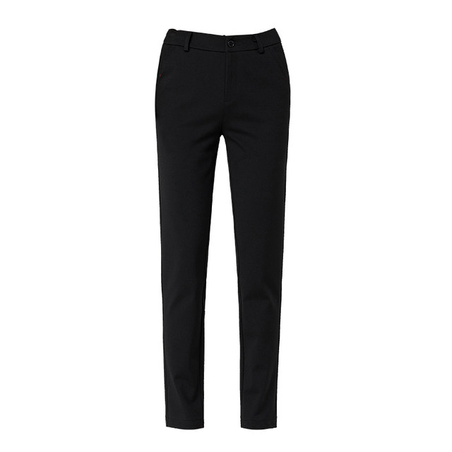 Membership Yas Pants 2021 Spring New Black Loose Slim Strong Pants High Cascade Leisure Skisk Pants
