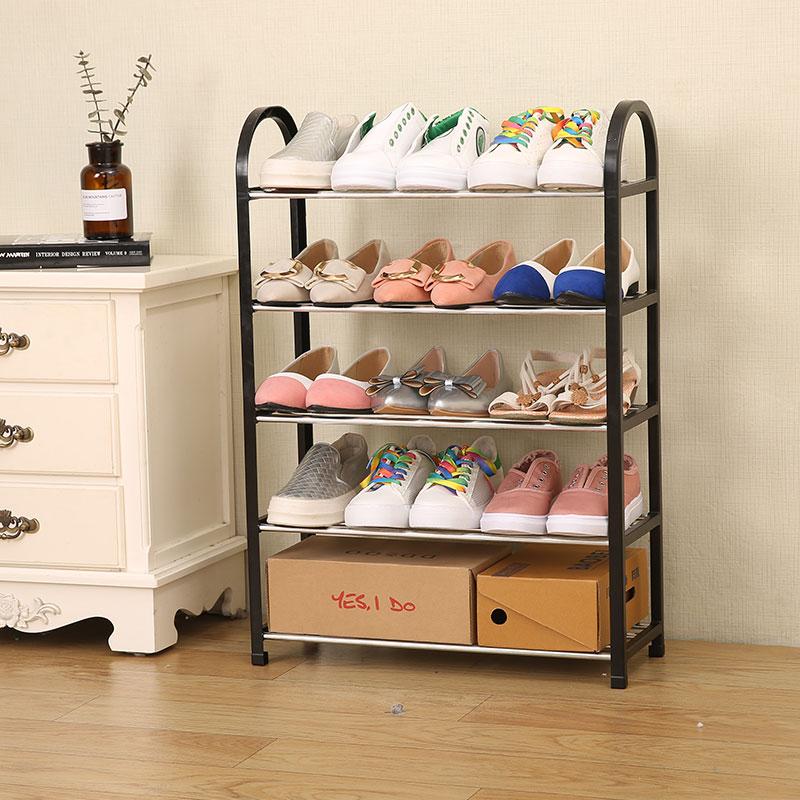 鞋架子家用简易门口鞋柜收纳防尘鞋架多层女大学生寝室宿舍省空间