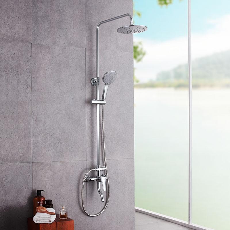 九牧卫浴 淋浴花洒套装挂墙式家用淋雨洗澡沐浴浴室花洒喷头套装