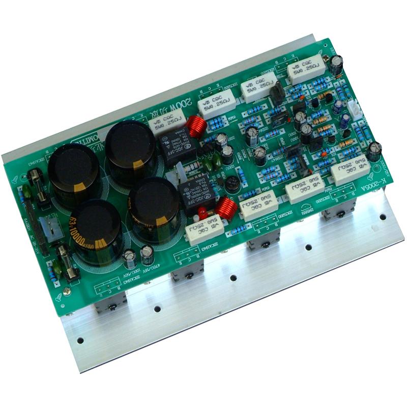 200W成品hifi大功率功放板家用成品发烧东芝对管1943 5200功放板