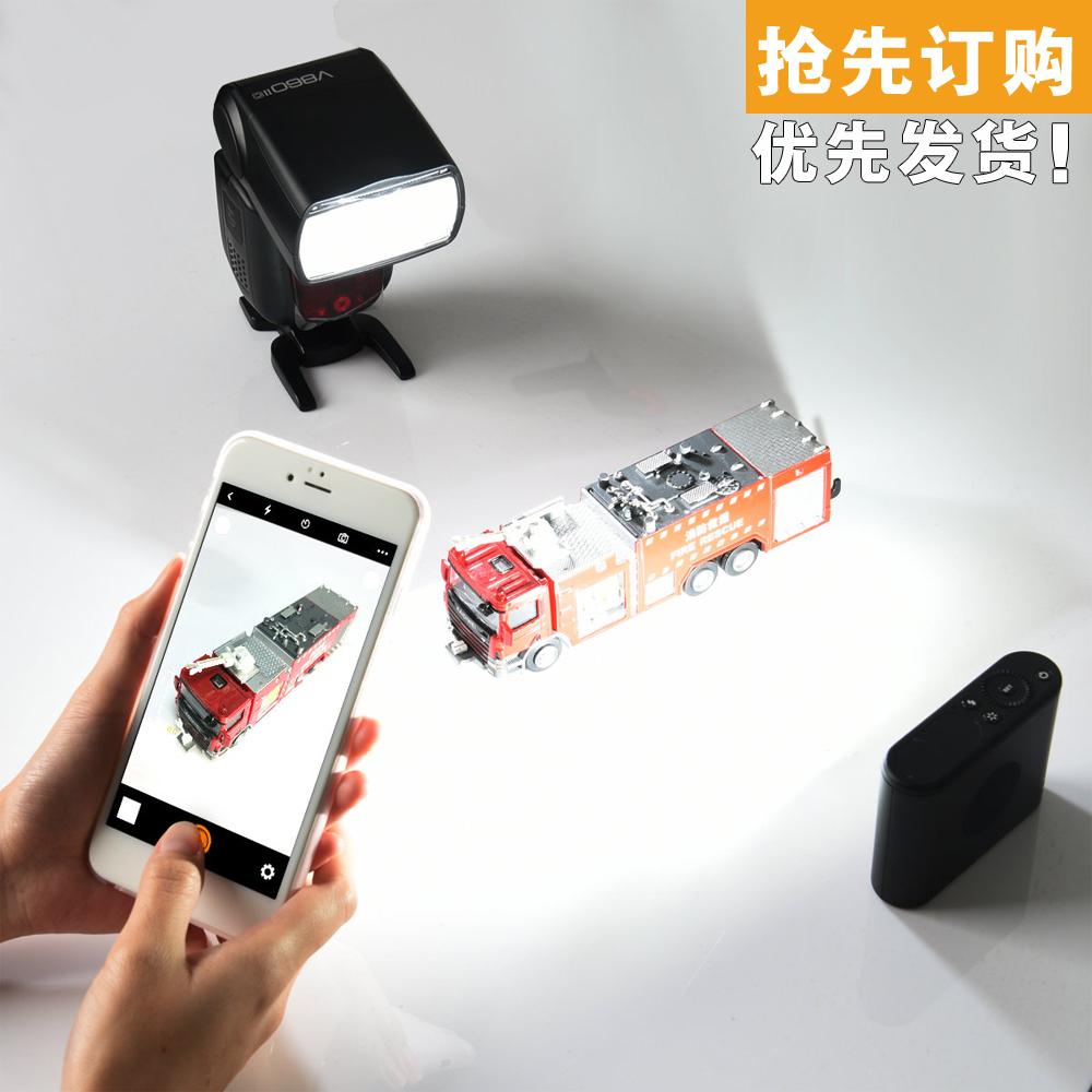 神牛A1 手机闪光灯 手机引闪器 手机摄影拍大片支持2.4G X系统