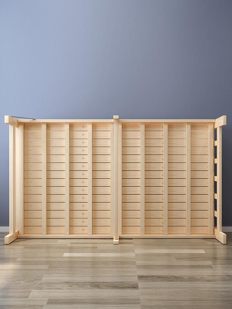 折叠床单人床1.2双人实木折叠床1米儿童床成人简易木板午休床家用