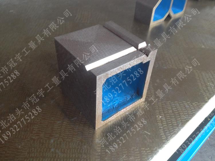 铸铁划线检验测量精密专用方箱 100 150 200 250 300 400 mm