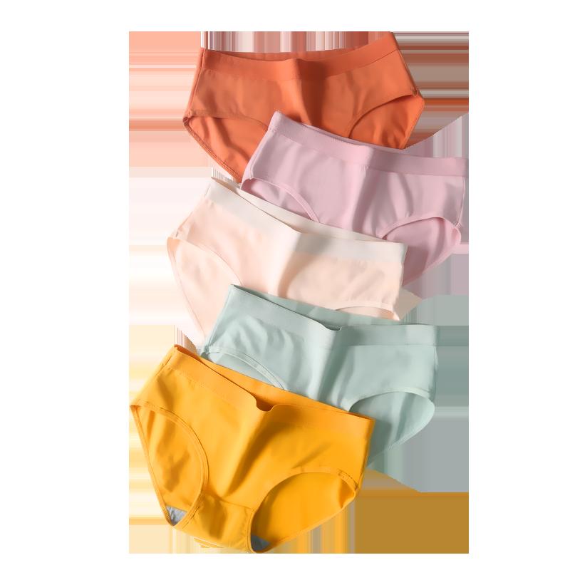 内裤女纯棉100%全棉裆石墨烯抗菌女士大码胖mm夏季薄款透气三角裤 - 图3