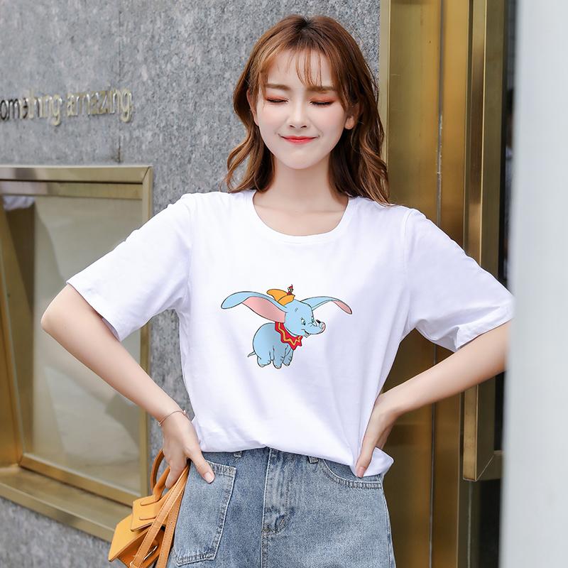 【抖音爆款】时尚百搭印花T恤