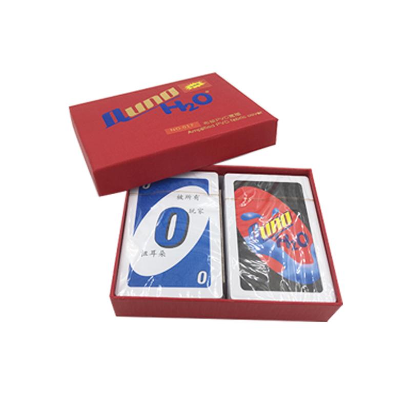 桌游优诺Benniuzuanshi UNO纸牌惩罚铁盒PVC卡牌休闲聚会桌面游戏