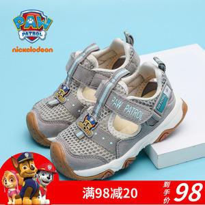 汪汪队童鞋男童宝宝鞋2-3岁网布鞋软底学步鞋镂空透气宝宝运动鞋