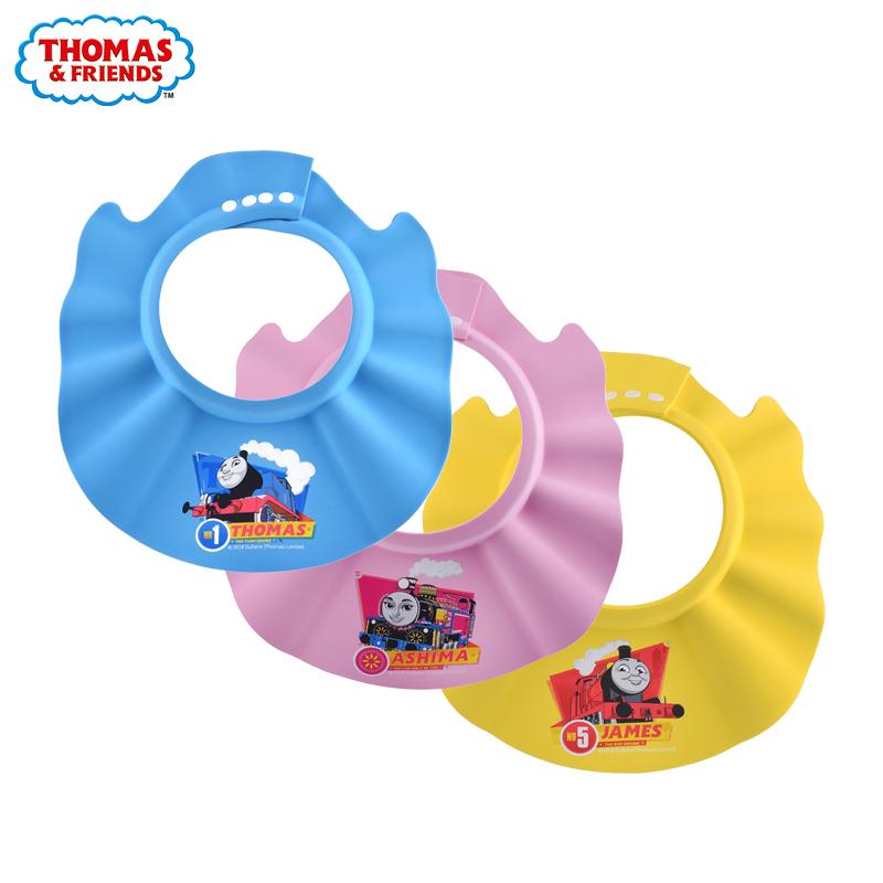 婴幼儿防水护耳洗发帽
