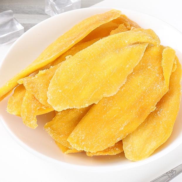稞姑娘 大块芒果干休闲零食风味小吃果脯干果蜜饯水果干食品110克