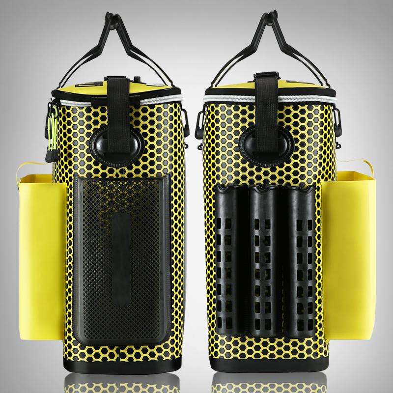 弘日钓鱼桶一体多功能加厚鱼护桶拉杆箱渔具包装鱼桶防水鱼护包
