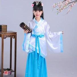 儿童三字经书童表演服 幼儿园服装演出服 小书童国学经典诵读国学