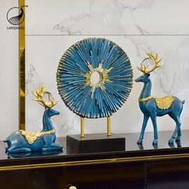 欧式客厅电视柜酒柜玄关摆件北欧轻奢装饰品高档现代创意家居饰品