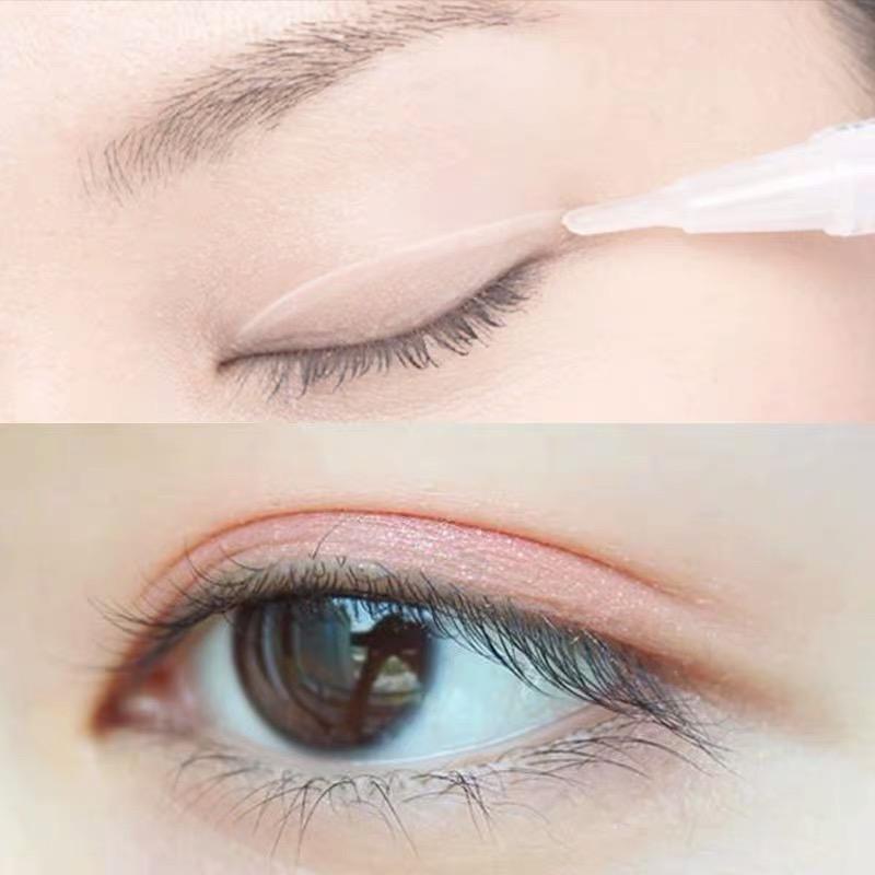 双眼皮精华液正品定型霜无痕自然非胶水永久小眼睛变大肿眼泡神器【图2】
