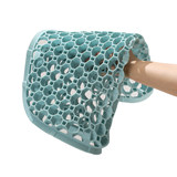 Sedentary not tired 3D beautiful buttocks German honeycomb silicone cushion SAWWAS 6 colors available