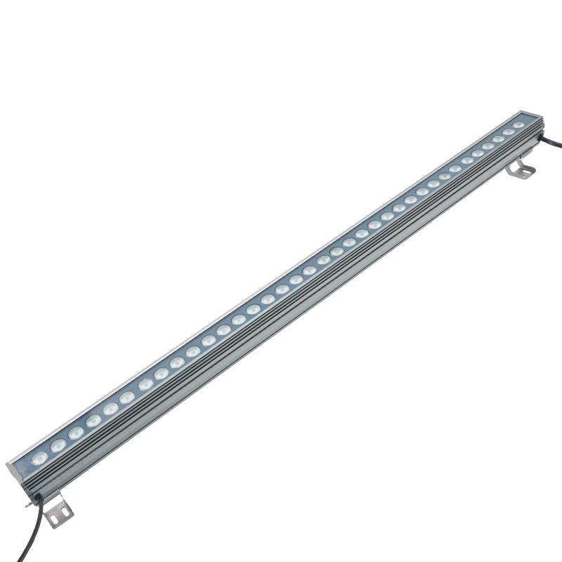 洗墙灯单色户外防水桥梁灯亮化七彩婚庆背景灯射灯线条轮廓灯 LED