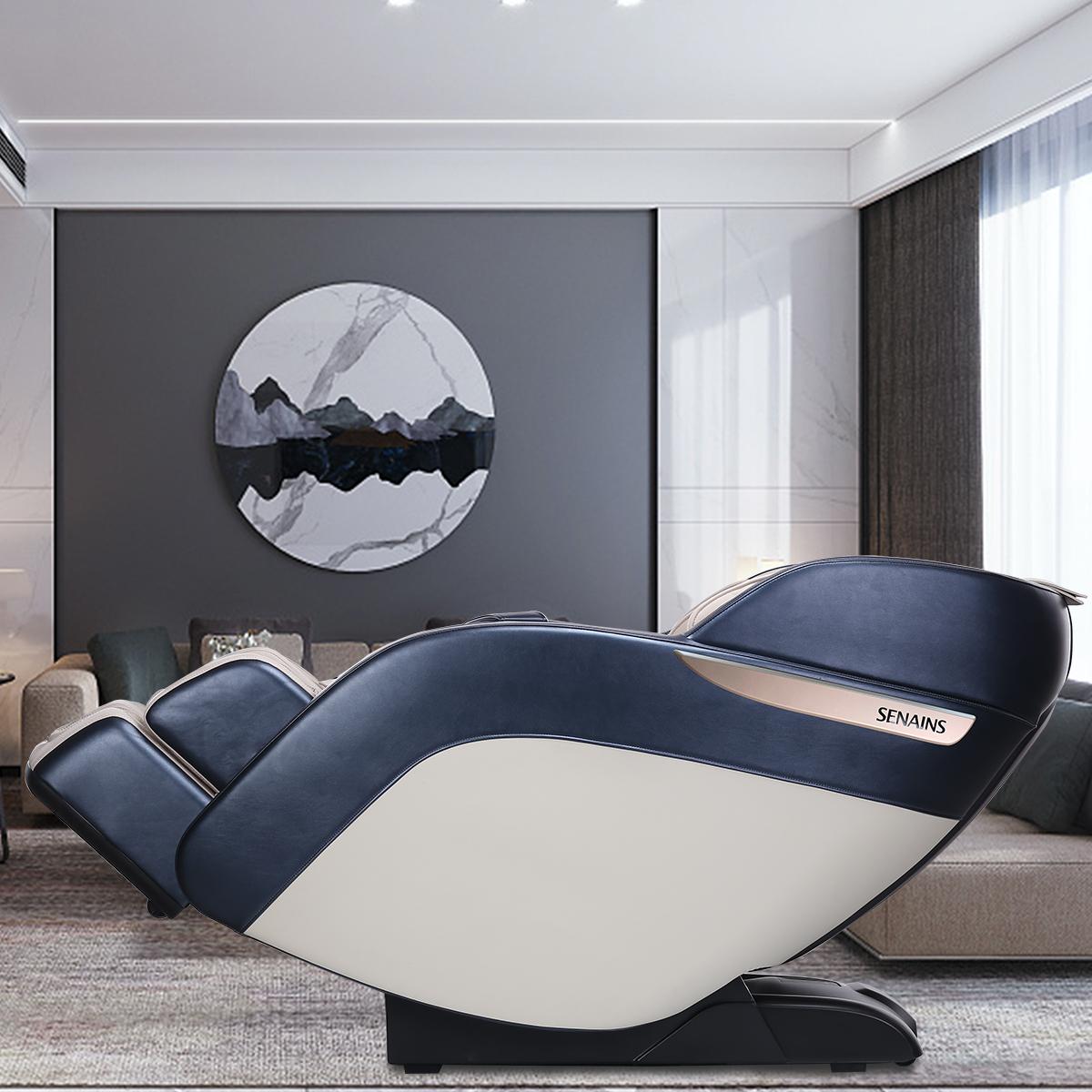德国SENAINS豪华按摩椅家用全身小型电动全自动老人太空舱躺椅 S4