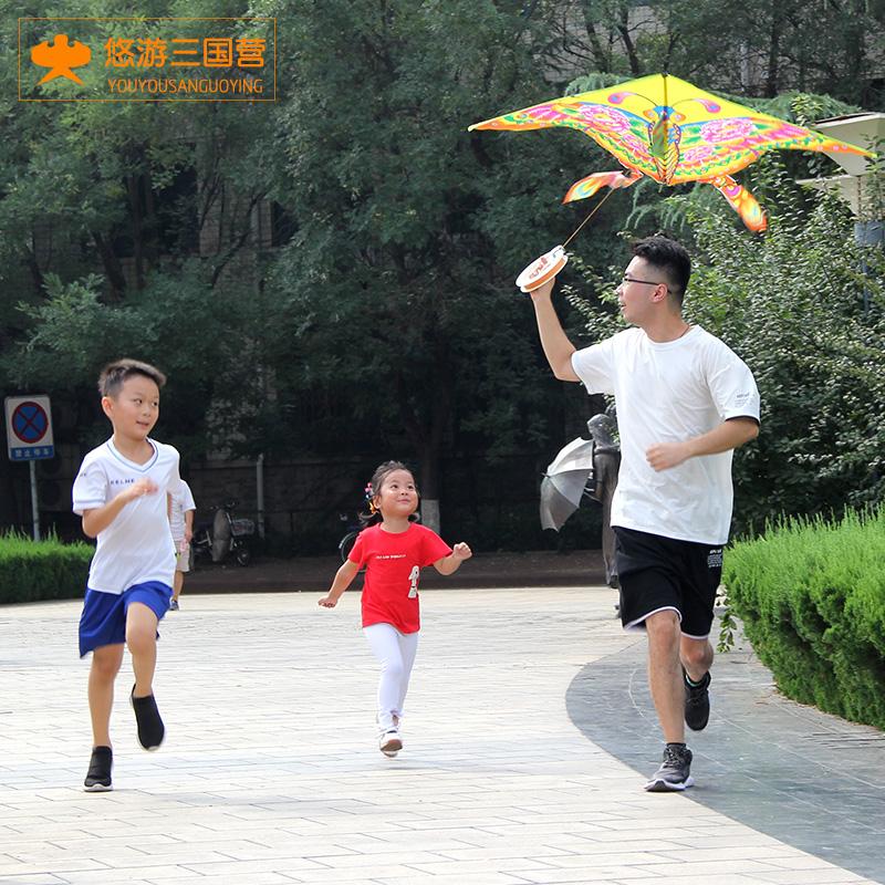 买二送一风筝儿童微风易飞大型高档新款卡通成人初学者送轮放风筝