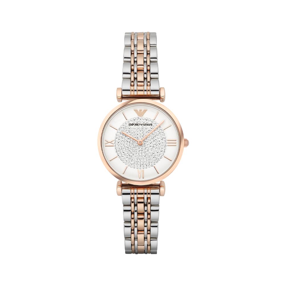 【直营】Armani阿玛尼满天星石英女表手表镶钻520送礼物AR1926