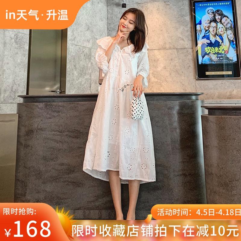 女超仙蕾丝时尚款夏天裙子潮妈