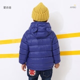 2019 winter children's down jacket white duck down light warm jacket baby boys and girls winter fashion western style children's clothing