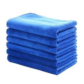 车内擦布玻璃纯棉全棉小抹布方巾厨房清洁家务超细毛巾擦用品擦车
