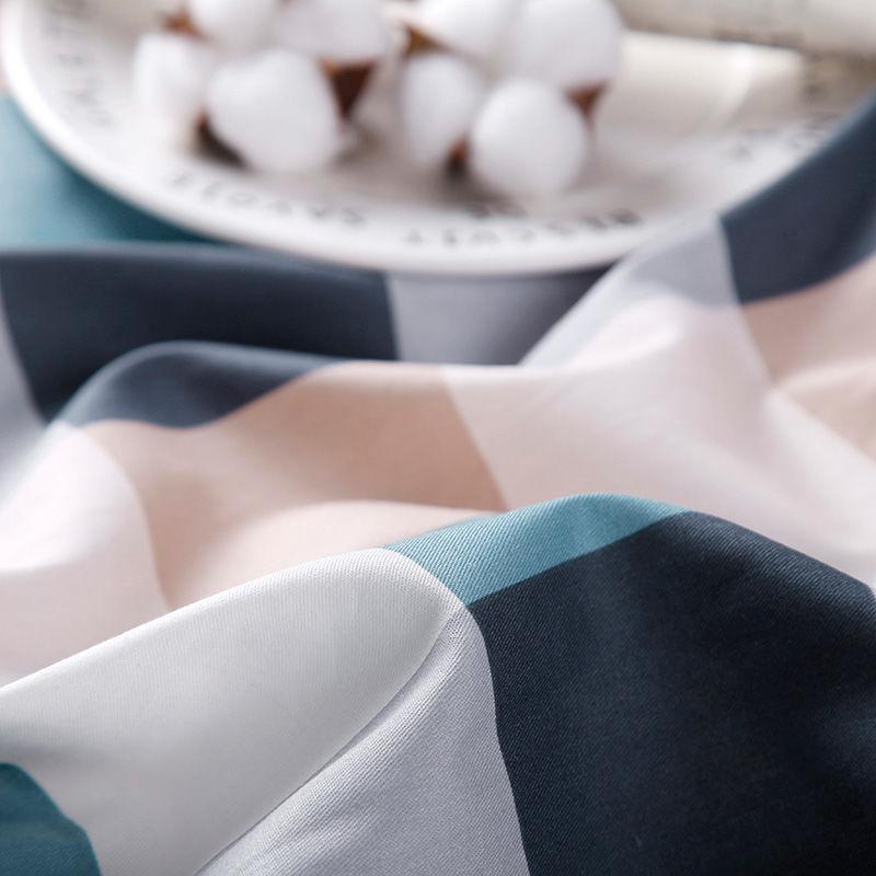 纯棉斜纹床单 宿舍单人1.2m1.5米加厚单子学生寝室上下铺单件褥单主图