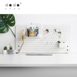 Dodo and desktop hole board partition board computer desk writing desk work bench finishing storage decoration partition