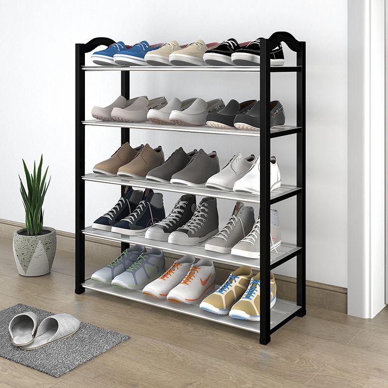 鞋架子简易多层家用门口防尘鞋柜收纳神器多功能进门特价小号寝室