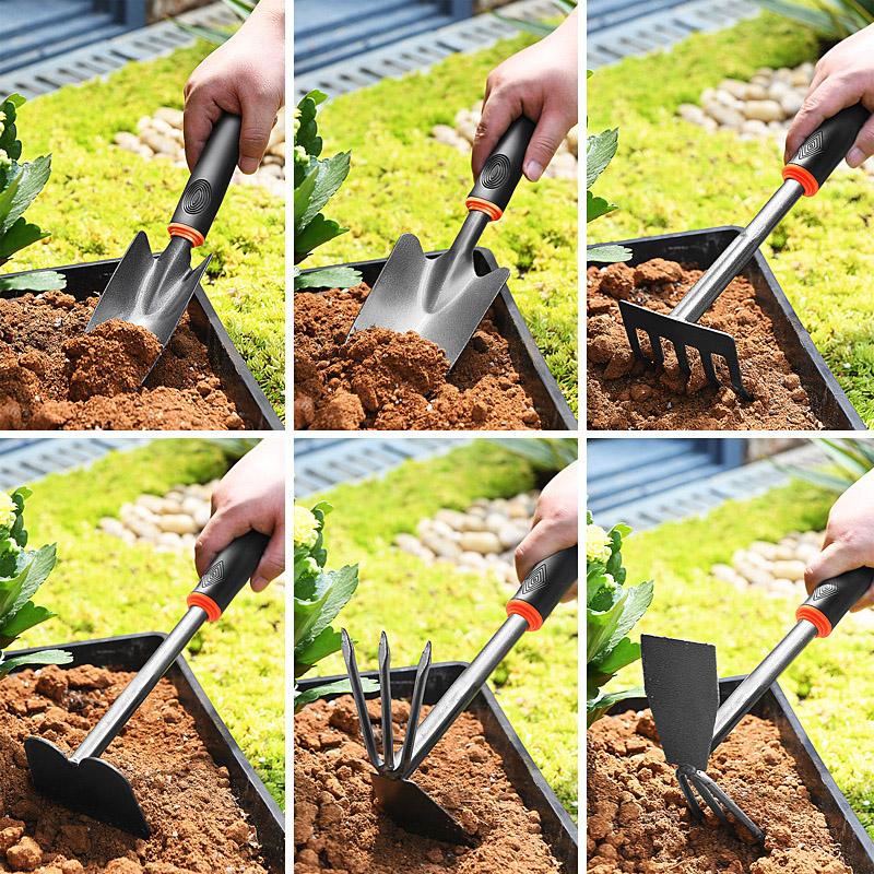种花工具家用套装种菜栽养花多肉花铲赶海神器铁锹铁铲园艺小铲子