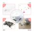 Powerful Mini Desktop Vacuum Cleaner Eraser Student Scraps Electric Cleaning Small Rechargeable Eraser Scrap Machine