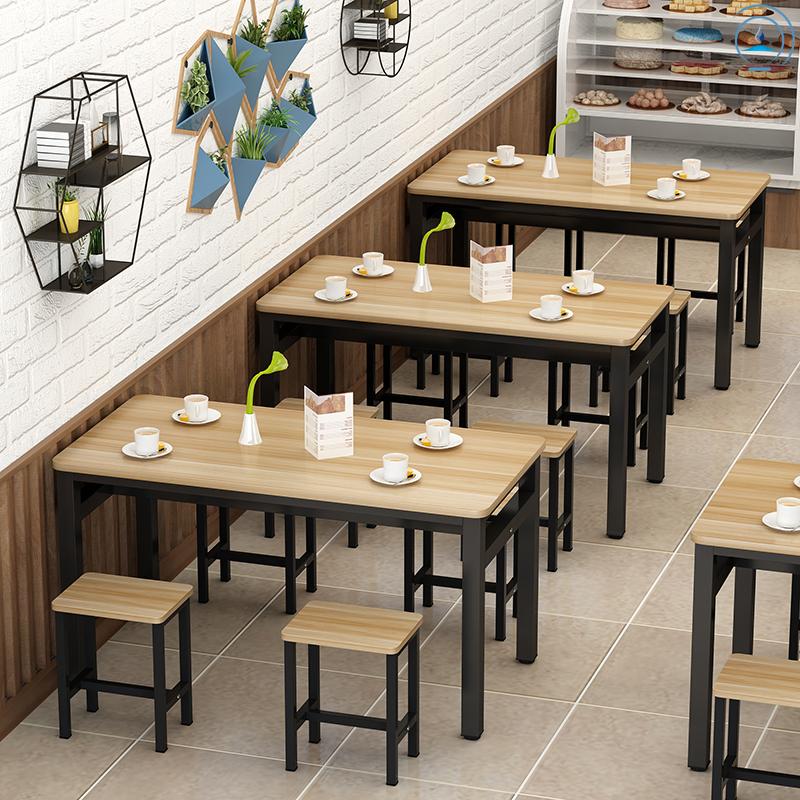 方形饭店面馆餐饮桌子