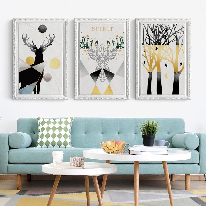 立體墻貼裝飾畫相框房間自貼畫臥室客廳背景墻泡沫壁紙 3d 自粘墻紙