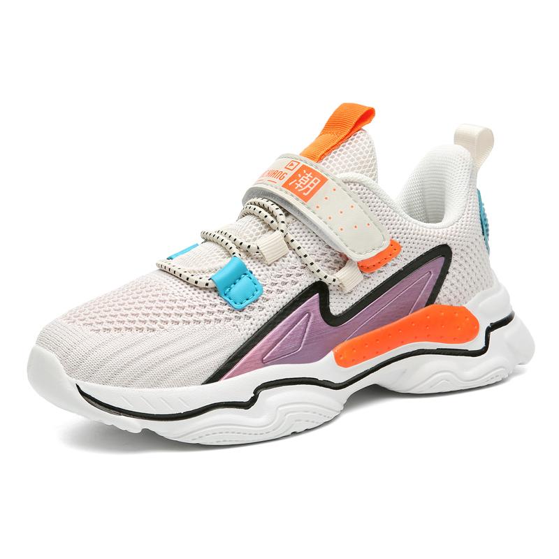ABC xiang儿童鞋子男童运动鞋2020新款春秋季透气双网面鞋女童鞋 - 图3
