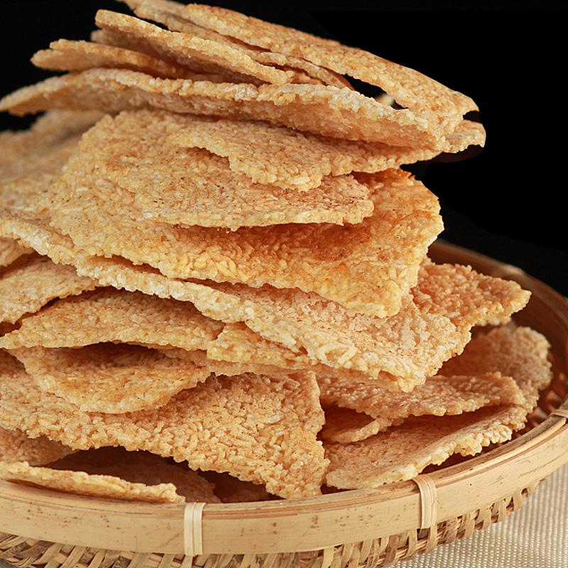 农家锅巴安徽特产美食零食小吃散装手工大米柴火土灶网红休闲食品