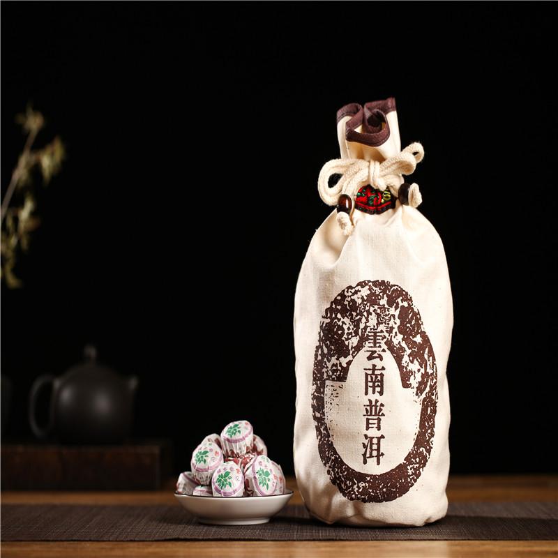 克浓香型茶叶醇香普洱熟茶 500 云南宁普糯米香特级熟沱迷你小沱茶