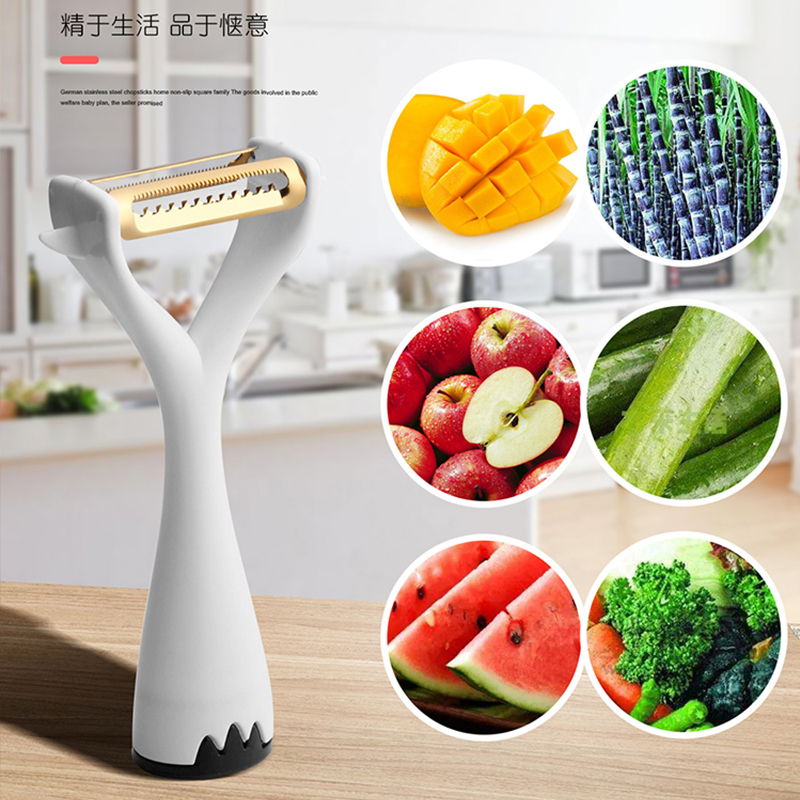 多功能削皮刀水果刨刀苹果刮皮器瓜刨厨房土豆家用蔬菜刮皮刀神器