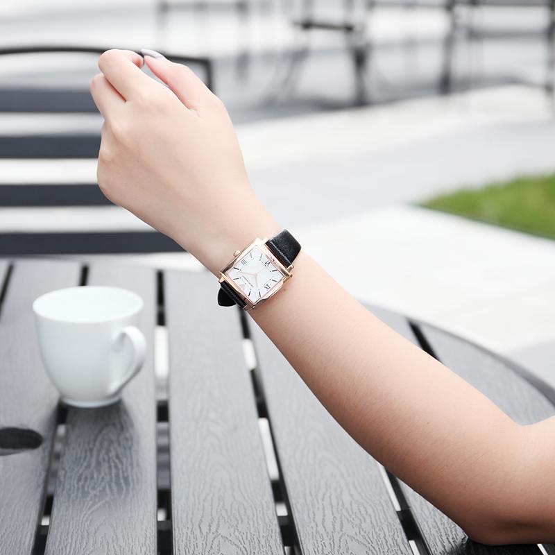 阿玛尼手表小绿表男女情侣对表ins风百搭简约官方旗舰店正品