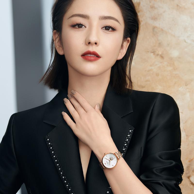 阿玛尼手表女佟丽娅同款 欧美时尚腕表机械表钢带官方正品AR60019