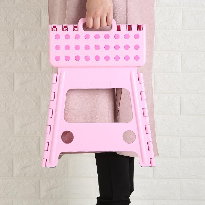 折叠凳塑料小登子儿童便携马扎矮凳户外家用迷你加厚成人板凳椅子
