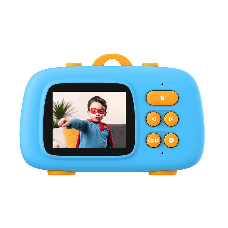 Amkov数码儿童相机可拍照录像玩具小学生男女孩生日六一节礼物品