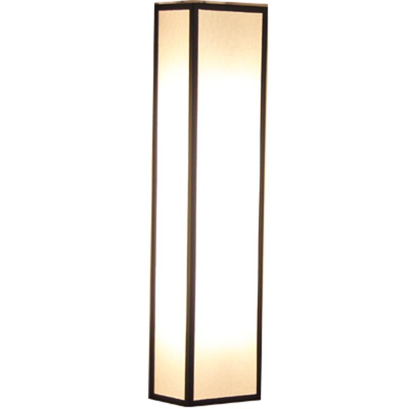 亚麻布酒店会所卧室客厅餐厅灯饰 LED 新中式壁灯简约现代走廊过道